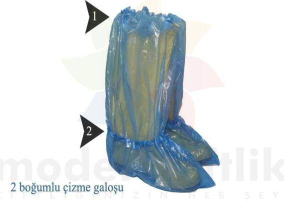 Çizme Galoşu 50'li Paket (25 çift)