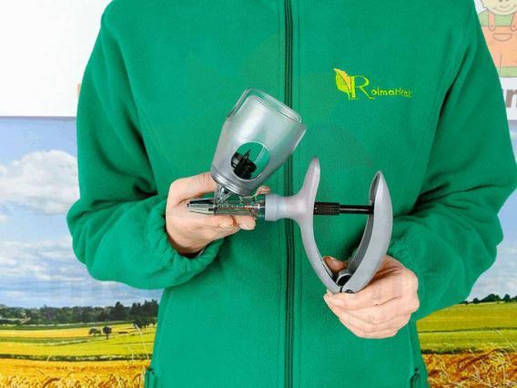 0.5 - 5 ml Otomatik Enjektör Şişe Adaptörlü