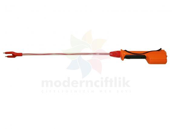 Üvendire uzun saplı (Pilli) 1500 w (Hayvan Şok Aleti)