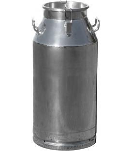 40 Litre Kilit Kapaklı Paslanmaz Süt Güğümü