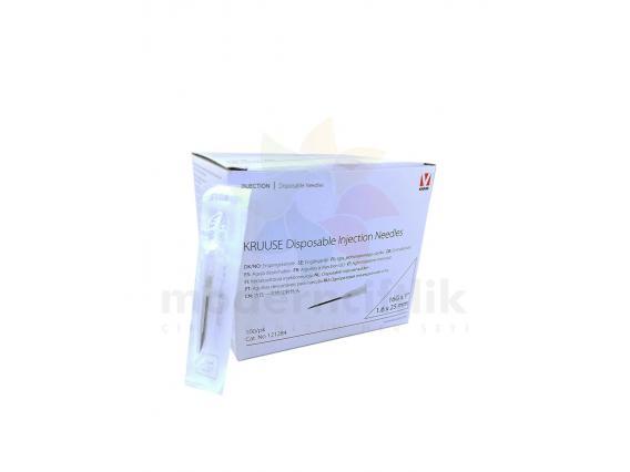 1.60x25 mm Steril Disposable Enjektör İğnesi