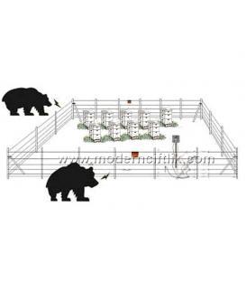 3900 ile 6400 m² Arası Arıcı Elektirikli Çit Sistemi