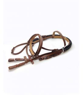 Atlar için Deri Başlık ve Dizgin Seti