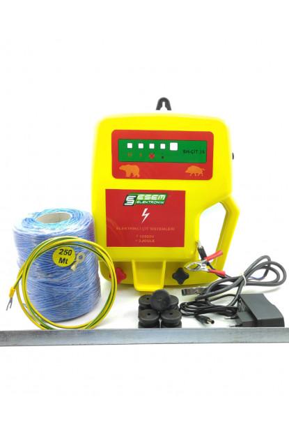 16 - 18  Dönüm Arası Elektrikli Çit Eko Paket