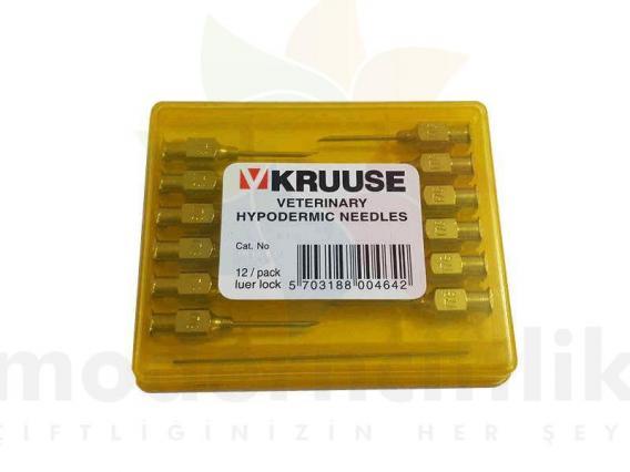 Enjektör İğnesi 1,2 x 15 mm.  ( 12 Ad )