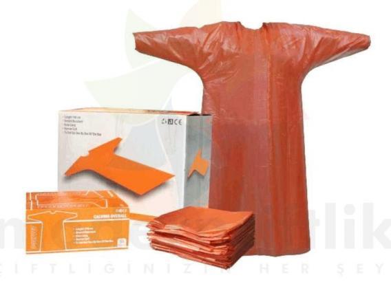 Tek Kullanımlık Önlük 50 li Paket