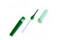 Kan alma iğnesi. 0,8*38 mm ( 21G x 1½ ) Yeşil 100 lü