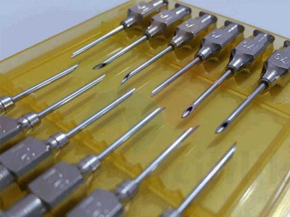 Enjektör İğnesi 0,8 x 10 mm.  ( 12 Ad )