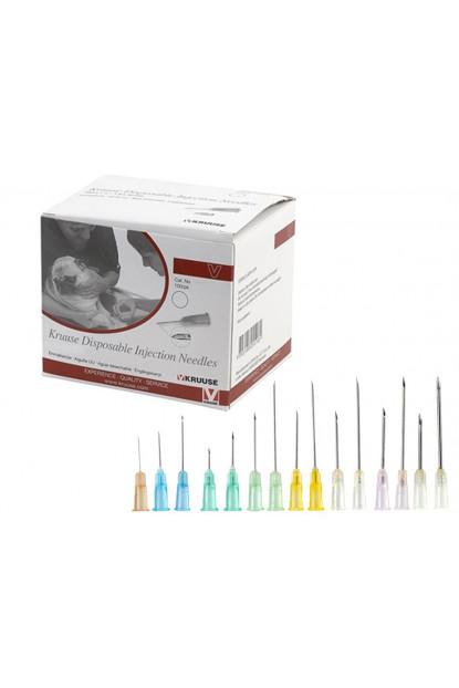 Steril Enjektör İğnesi 0,9 x 25 mm (100 Ad) Sarı