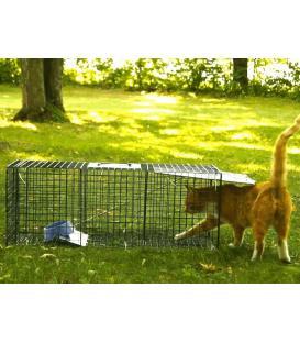 Kedi yakalama tuzağı kapanı
