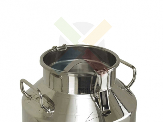 40 Litre Krom Kilitli Kapaklı Süt Güğümü