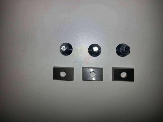 Tırnak kesme diski için 3 ad yedek diş ve vidası