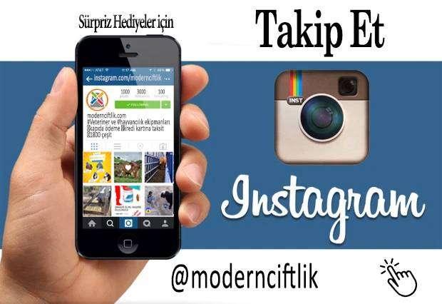 instagram da takip edin