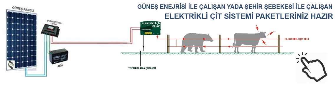 elektrikli çit
